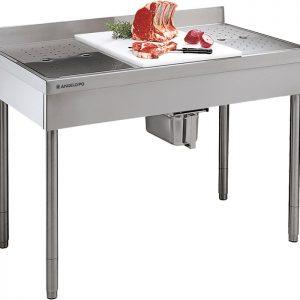 Radni stolovi za pripremu mesa i ribe